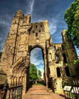 Kelso Abbey HDR by GaryTaffinder