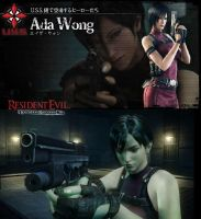 Ada In Resident Evil: Operation Raccoon City by toxicwarning