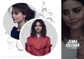PACK PNG 31 // JENNA COLEMAN by Bonitarogue