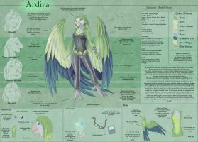 Ardira - Character Sheet by Ulario