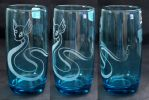 -Etsy- Blue Laser Engraved Dragonair Glass by Nortiker