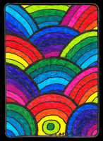 Rainbow ACEO 15 by Siobhan68