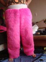 Pink Dragon Pants by MonstrositiesNZ