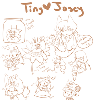 HPM - Pocket Josey Sketchs - INCOMPLETE - by Ruhianna