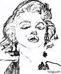 Marilyn Monroe1 by Melody-By-Design