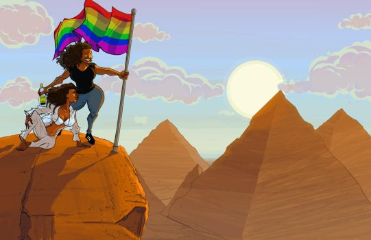 The Queens of Egypt by Jorell-Rivera