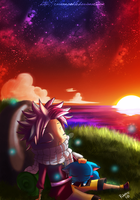 Fairy Tail-Sunset by RavenNoodle