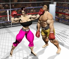 Boxing: Here comes the big one by Stone3D