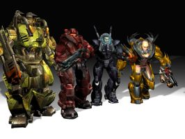 MECH GROUP by lubre53