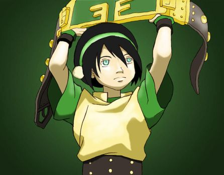 Toph: The Blind Bandit by YVS51
