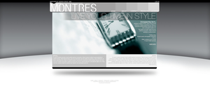 Montres Home Page by pilotZ3ro
