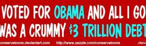 I Voted for Obama... by Conservatoons