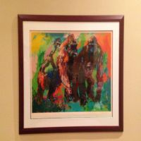 LEROY NEIMAN -GORILLA FAMILY by ellie-pestun1