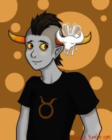 Tavros and Tinkerbull by AdrianStreet