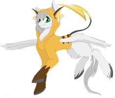 Arctic Fluff in a Raichu Hoodie by SarahHardy01