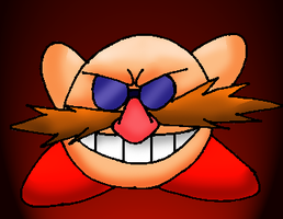 Eggman Kirby by Bombkirby