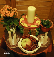 Summerfeast altar version 2. (2) by LoveLiveLilith