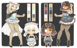 Angel 'n Demon Adopts [CLOSED] by WanNyan