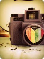 love my Holga by Cinnnamon