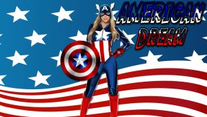 American Dream Sara Jean Underwood cosplay wp by SWFan1977