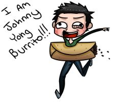 JOHNNY YONG BURRITO by awesomeyuan