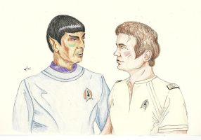 Welcome Back [Spirk] by AloiInTheSky