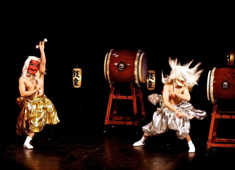 Kodo Musical Theather Chatelet Paris France 02 by orphoe