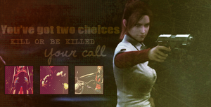 Two Choices -Claire Redfield- by QuidxProxQuo