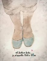 bello blue shoes by swaDESI