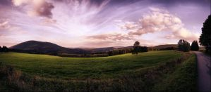 Sumava panorama by r3akc3