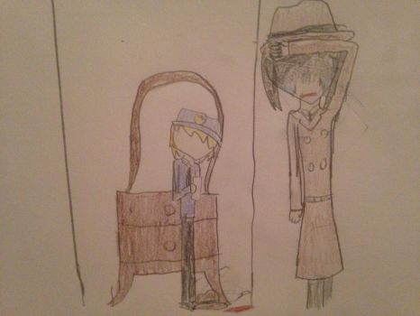 Death of a Detective  by RiventheCipher