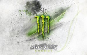 Monster energy background by lamaars