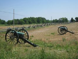 Cannons at Antietam by Rennon-the-Shaved