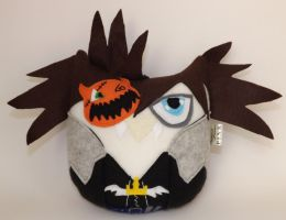 Owl Plushie Inspired By Sora Halloween Town by sylvialovespink