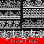 7 lace PNG by roula33