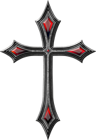Gothic cross 1 by jojo-ojoj