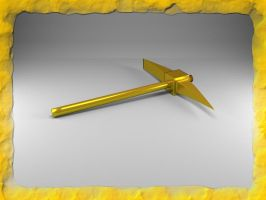 Gold Pickaxe by Xothex