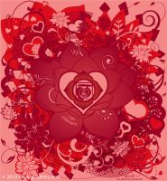 Valentine's Root Chakra by Saintbirdy