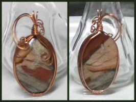 Copper Koi Jasper from Africa by Zorias