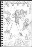 Will and the band by Ed5070