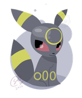 Umbreon Flat by SteveKdA