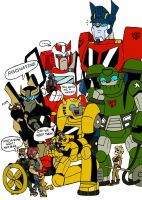 Transformers meets Thundercats by xero87