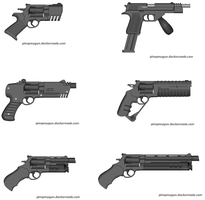 Just some 0.6 handguns by Robbe25