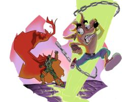 Spawn v Crash by SeanMcFarland