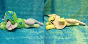 Fluttershy Beanie with Gala Hoodie by Cheferoni