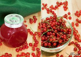 Red currant jam by Morgaer