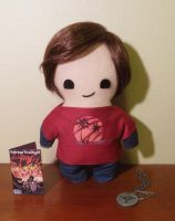 the last of us ellie plush, chibi style! by viciouspretty