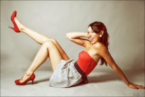 Pin up style by Biseuse