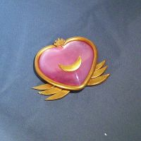 Super Sailor Chibi Moon Broach by MayuriMoon
