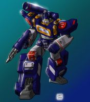 SOTP2 Soundwave Robot Colors by Johnny216